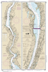 Picture of 12343 - Hudson River - New York To Wappinger Creek Nautical Chart