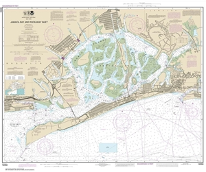 Picture of 12350 - Jamaica Bay And Rockaway Inlet Nautical Chart