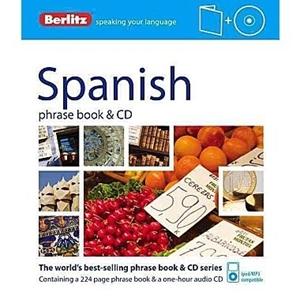 Picture of Berlitz Spanish Phrase Book & CD