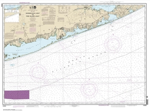 Picture of 12353 - Shinnecock Light To Fire Island Light Nautical Chart