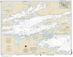 Picture of 14997 - Boundary Waters - Rainy Lake - Dryweed Island To Big Island Nautical Chart