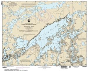 Picture of 14985 - Boundary Waters - Saganaga Lake Nautical Chart