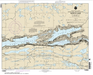 Picture of 14982 - Boundary Waters - North Lake Nautical Chart