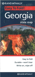 Picture of Georgia Easy to Fold State Map