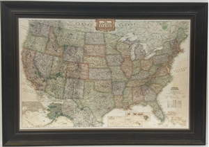 Picture of United States Executive Gallery Map
