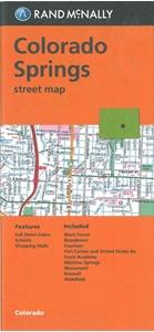 Picture of Colorado Springs, Colorado Street Map