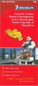 Picture of Michelin - Slovenia , Croatia , Bosnia & Herzegovenia , Macedonia