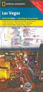Picture of Las Vegas Destination Map, National Geographic