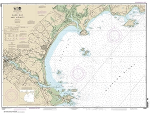 Picture of 13287 - Saco Bay And Vicinity Nautical Chart