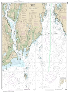 Picture of 13295 - Kennebec And Sheepscot River Entrances Nautical Chart