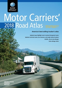 Picture of Rand McNally United States, Canada & Mexico Motor Carriers' Road Atlas 2018