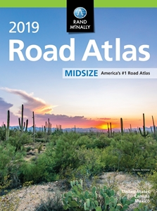 Picture of Rand McNally United States, Canada & Mexico Midsize Road Atlas