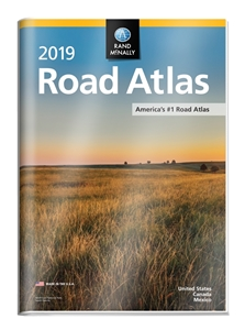 Picture of Rand McNally Atlas With Protective Vinyl Cover