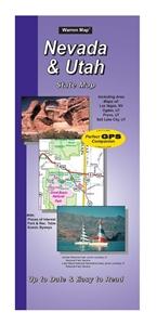 Picture of Neveda/Utah State Road Map